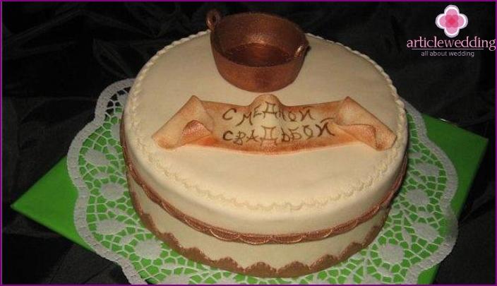 Kakku kuparipäivinä