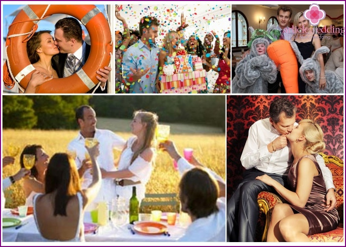 Nickel Hochzeitsorte Optionen