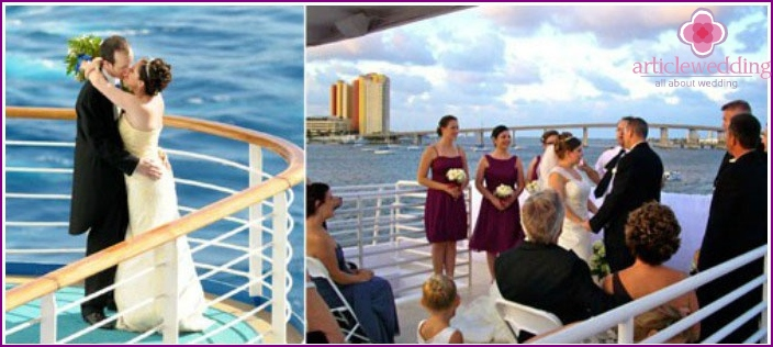 Wedding Celebration Idea - Ship