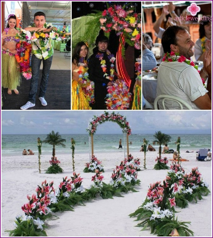 Hawaiian wedding is an interesting topic