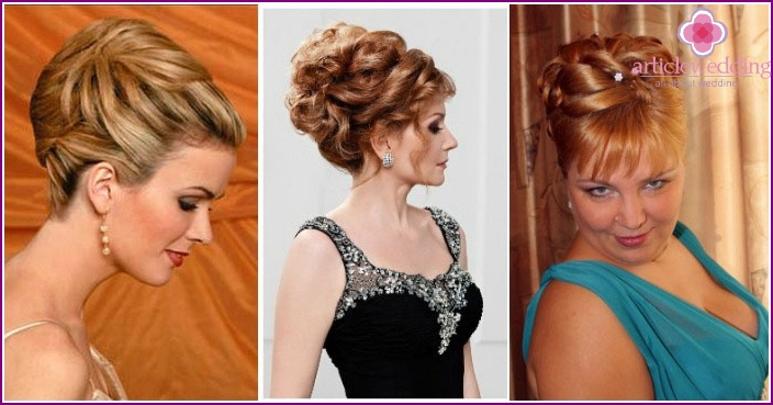 photo: hairstyles for mom of the bride on medium hair