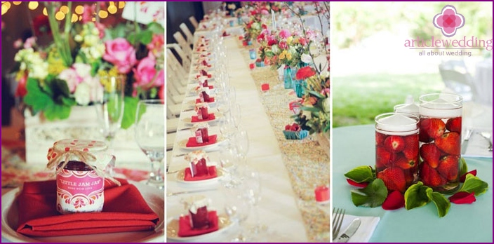 Strawberry-themed Banquet Hall