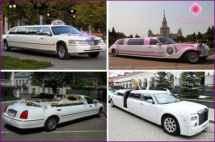 Long limousines