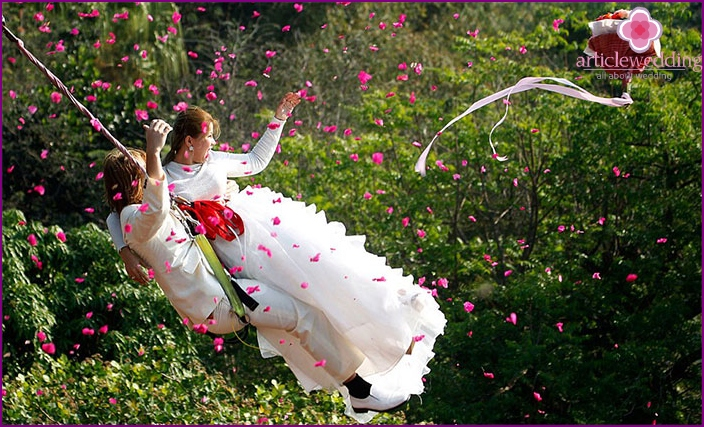 Hochzeitsunterhaltung für das Brautpaar