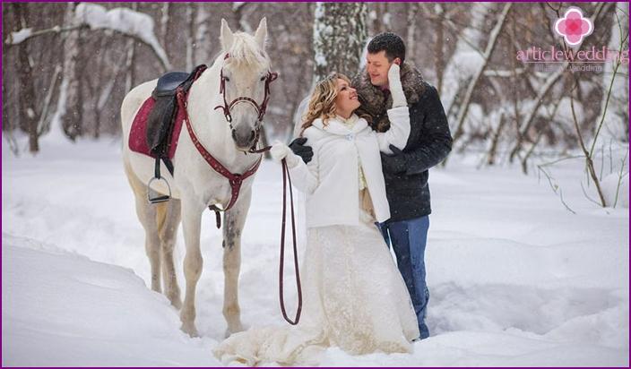 Foto von schönen Hochzeiten für den Urlaub der Liebenden