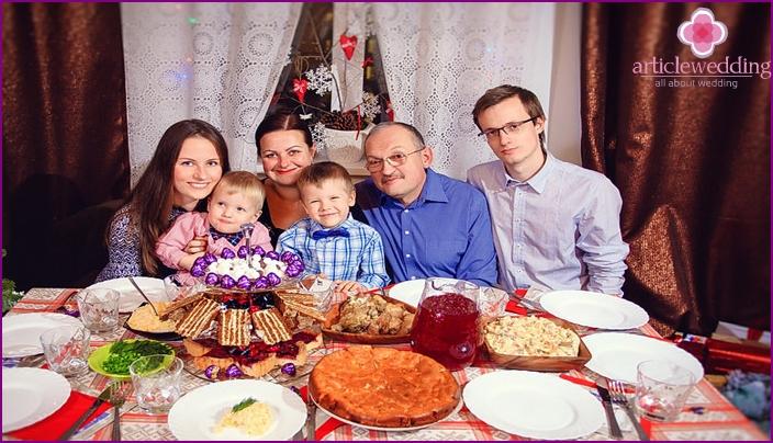 Loma perheen kanssa