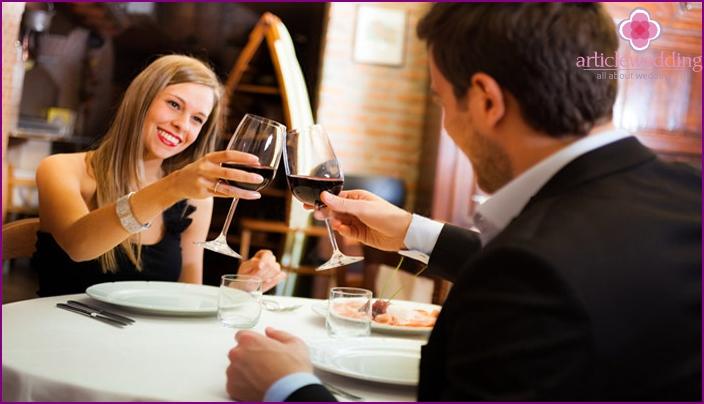 Illallinen ravintolassa