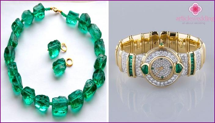 Smaragd Jubiläumsgeschenke