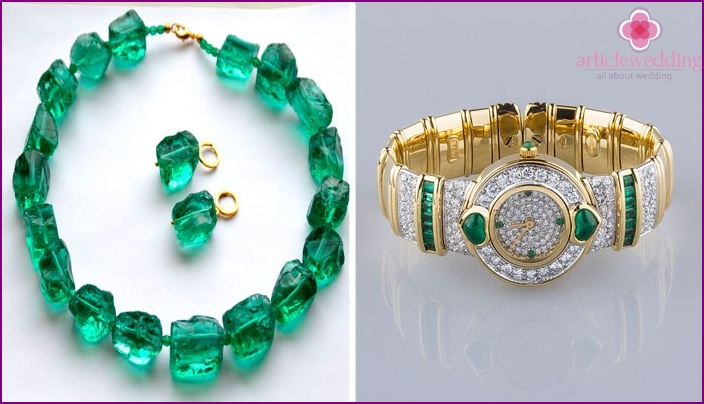 Emerald Anniversary Gifts