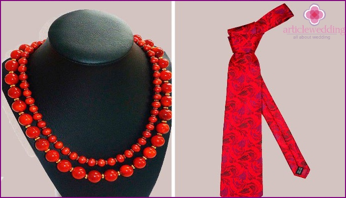 Accessories for spouses on their 40th wedding anniversary