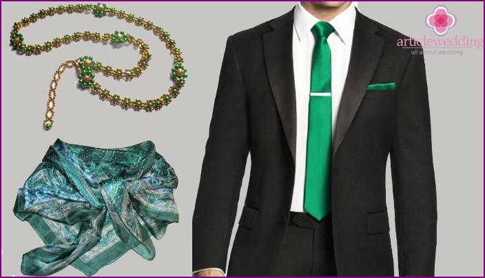 Emerald Anniversary Kleidung Details