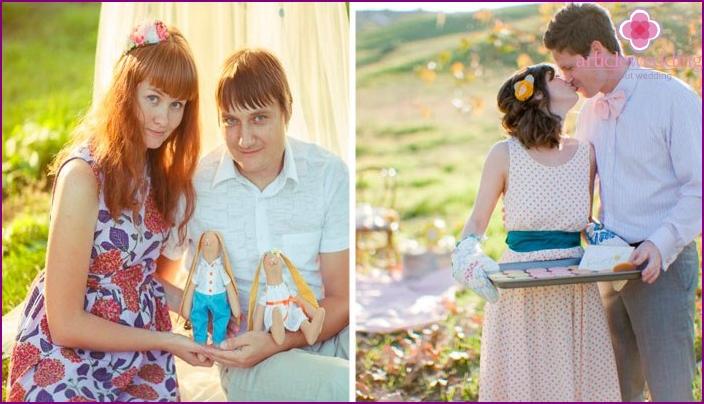 Interessante Ideen für ein Fotoshooting zum Hochzeitstag