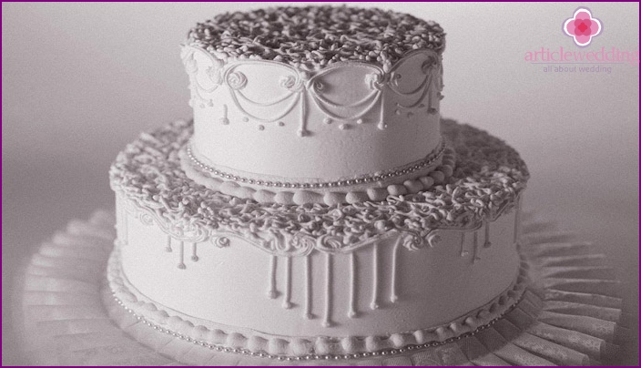 65th Wedding Anniversary Cake