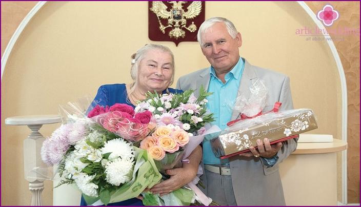 Spouses Agaeva for 100 years of wedding