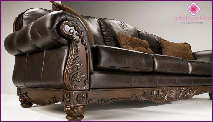 Oak furniture for 80th wedding anniversary