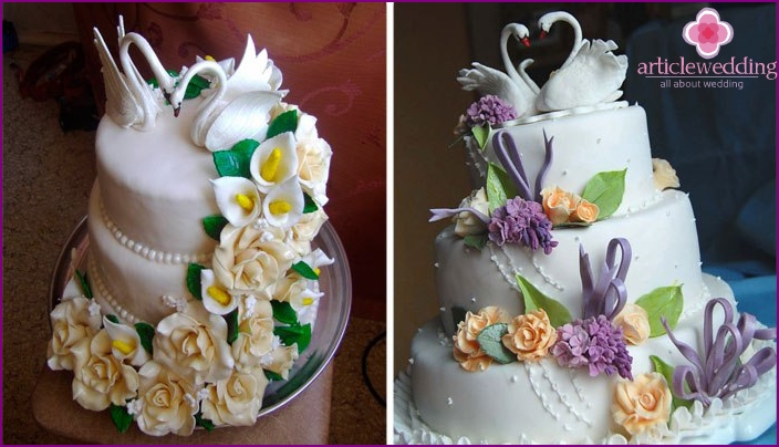 Crown Wedding Cake