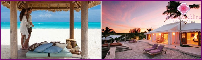 Bahamas - perfekt für Flitterwochen