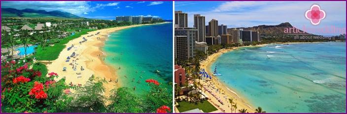 Schöne Landschaft in Hawaii