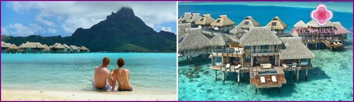 Flitterwochen in Tahiti