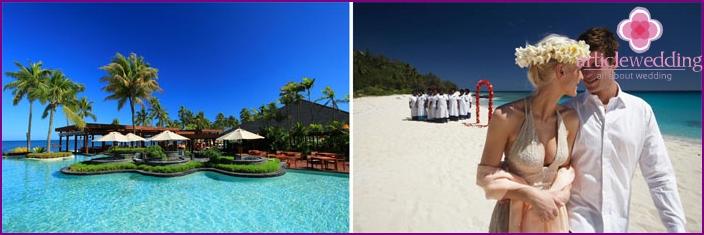 Fiji Islands for honeymoon