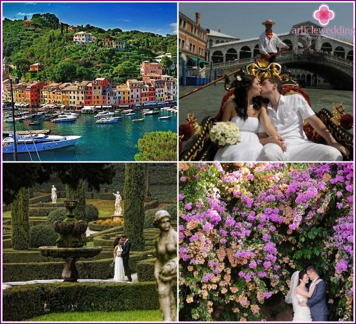 Italien für Flitterwochen