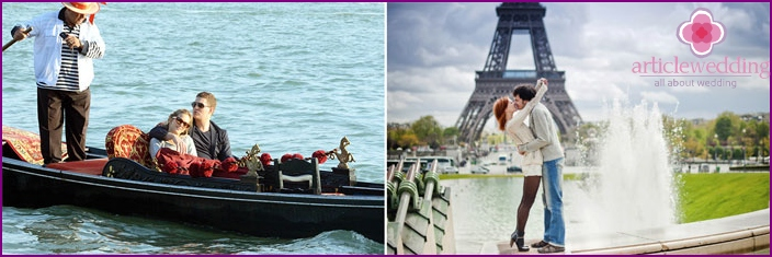 July honeymoon in Europe
