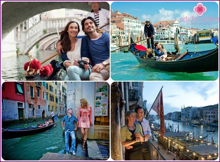 July honeymoon in Venice