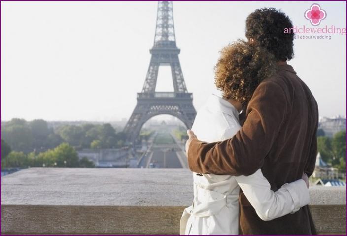 Flitterwochenreise nach Paris