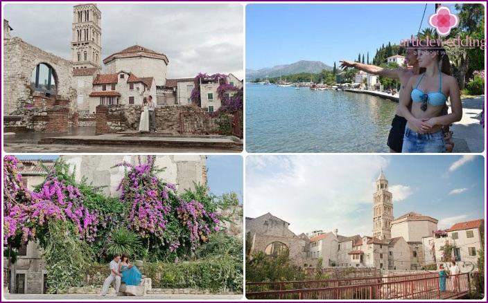 Romantische Flitterwochen in Kroatien im Juli