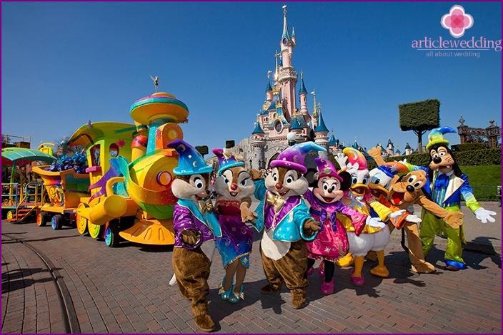 Die fantastische Welt von Disneyland in Paris