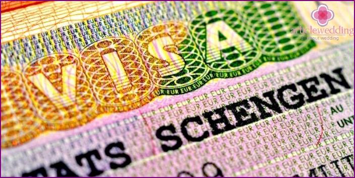Getting a Schengen visa for a honeymoon