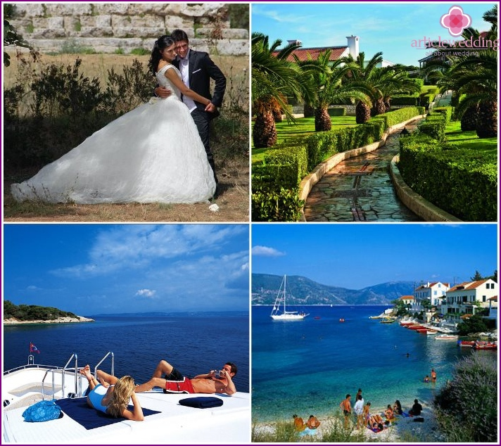 Holidays for newlyweds in the Peloponnese