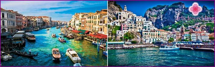 Honeymoon Italiassa toukokuussa