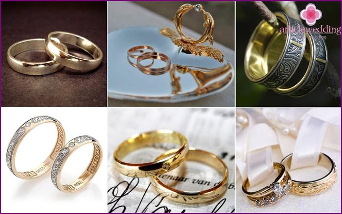 Wedding rings for wedding