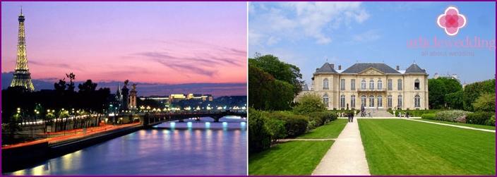 Paris - a romantic place for lovers