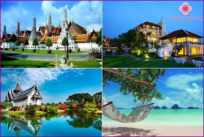 May holiday on Thailand beach