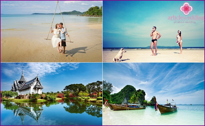 Thaimaan häämatkarannat