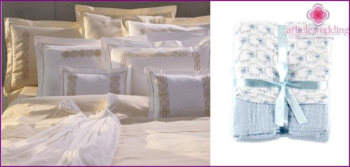 Muslin bedding