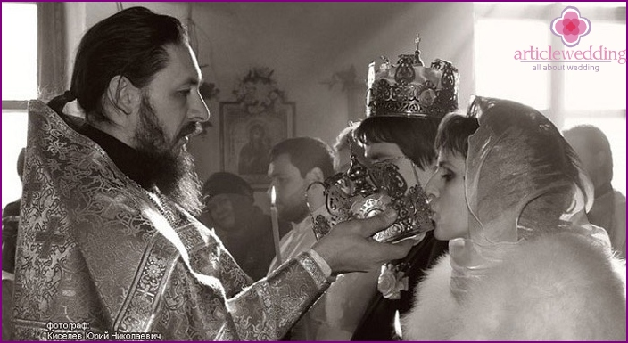 Kissing the crown