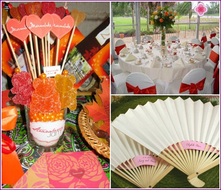 Ideas for decorating a paper anniversary hall