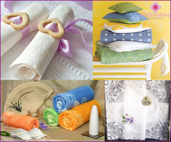 Textile products as a gift for chintz anniversary