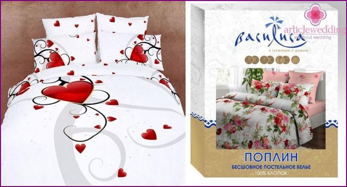 Bettwäsche ist ein tolles Geschenk für Chintz Hochzeit
