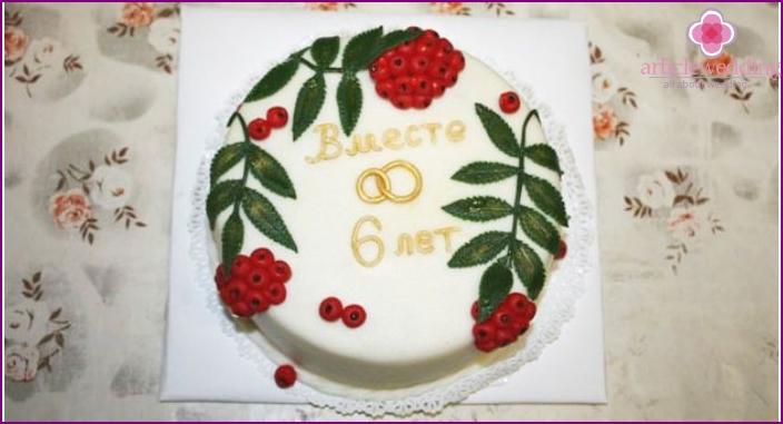 Cast Iron Wedding Cake
