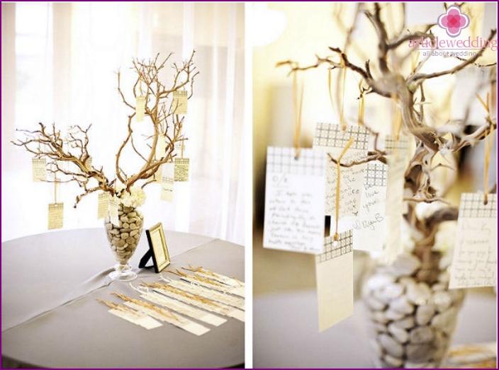 Wish Tree for 30th Wedding Anniversary