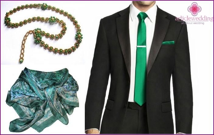 Smaragdi-vuosipäivän vaatteet