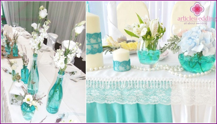 18th Wedding Anniversary Decor Elements