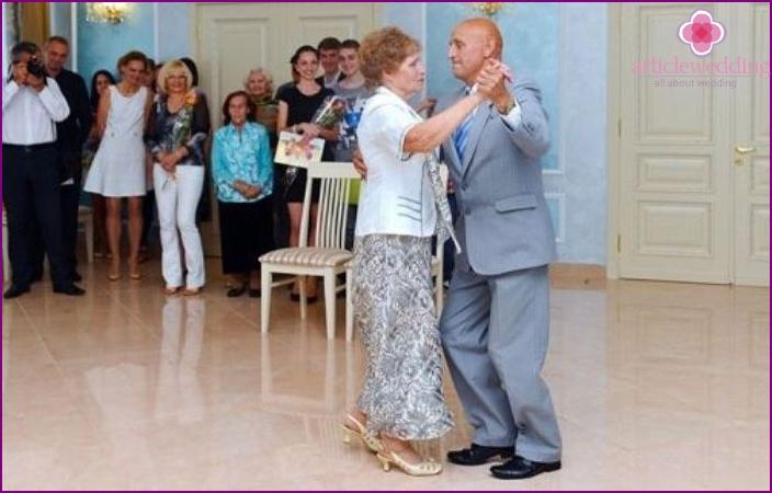 Saphir Jubiläen Hochzeitstanz