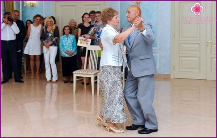 Sapphire Anniversaries Wedding Dance