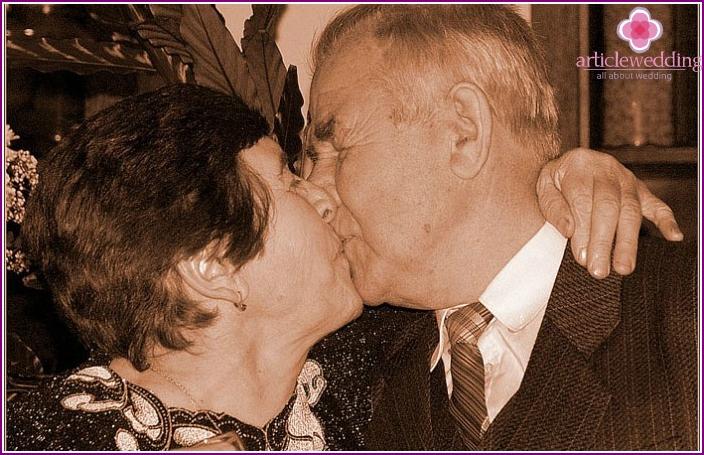 Ehepartner Agaeva für 100 Jahre Hochzeit