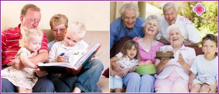 View family photos on your eightieth birthday